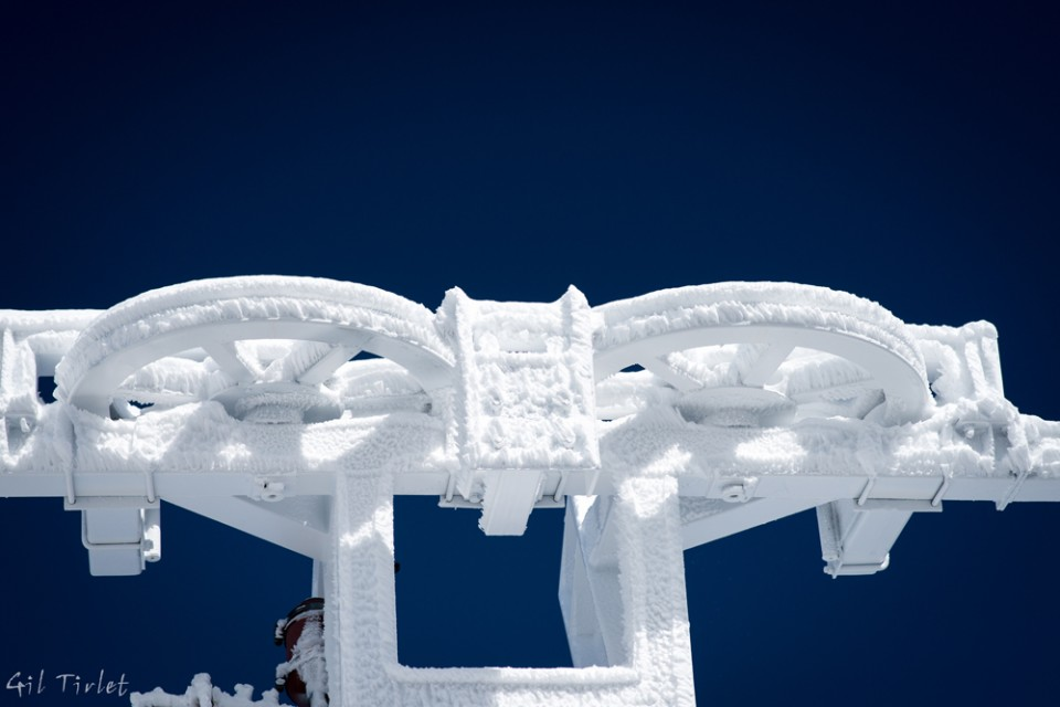 Gil Tirlet Photography - Snow Art In Cham